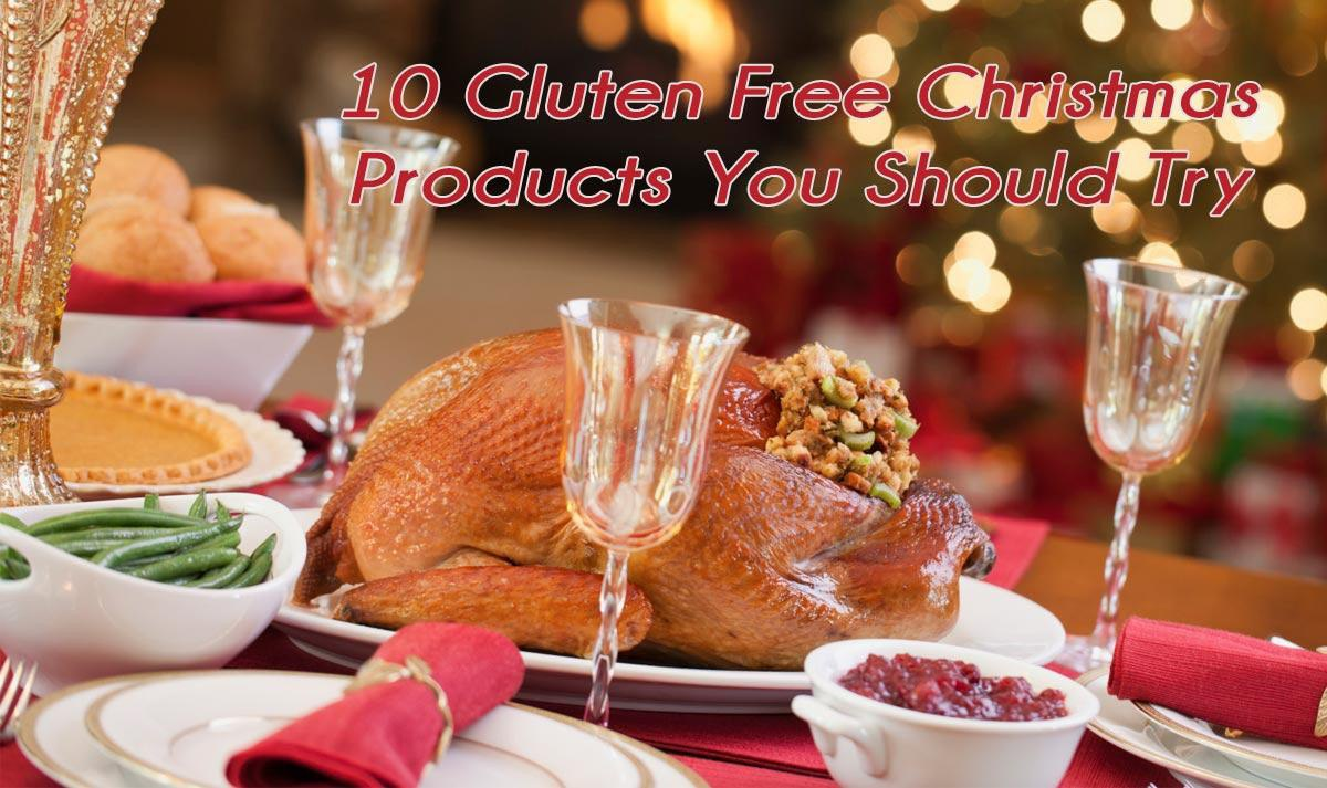 10 Gluten Free Christmas Products To Try