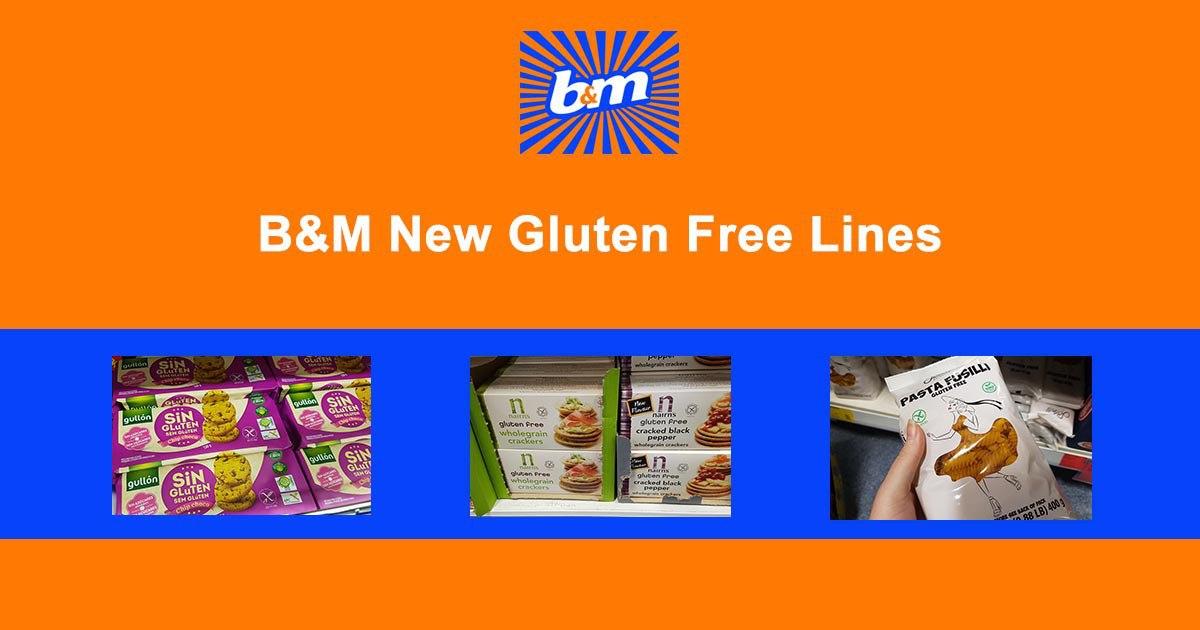 B&M Gluten Free Lines