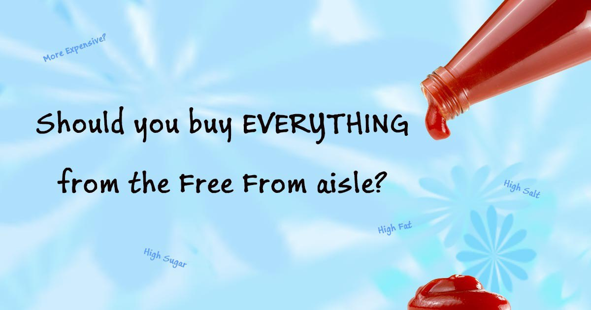 Buy EVERYTHING From The Free From Aisle?