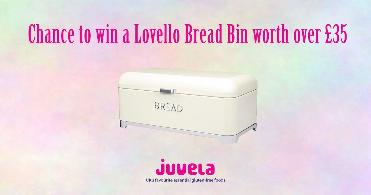 Chance To Win A Lovello Bread Bin Worth Over £35
