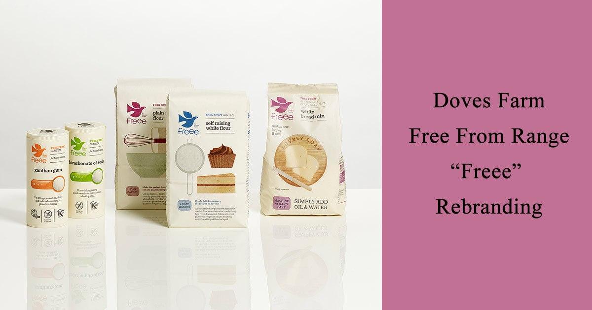 Doves Farm Free From Range 'Freee' Rebranding
