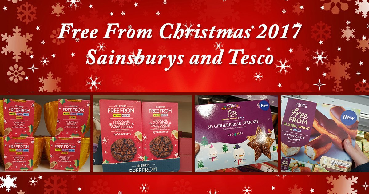 Free From Christmas 2017 - Sainsburys and Tesco