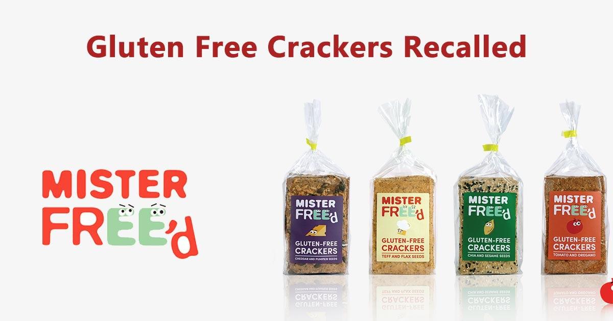 Gluten Free Crackers Recalled