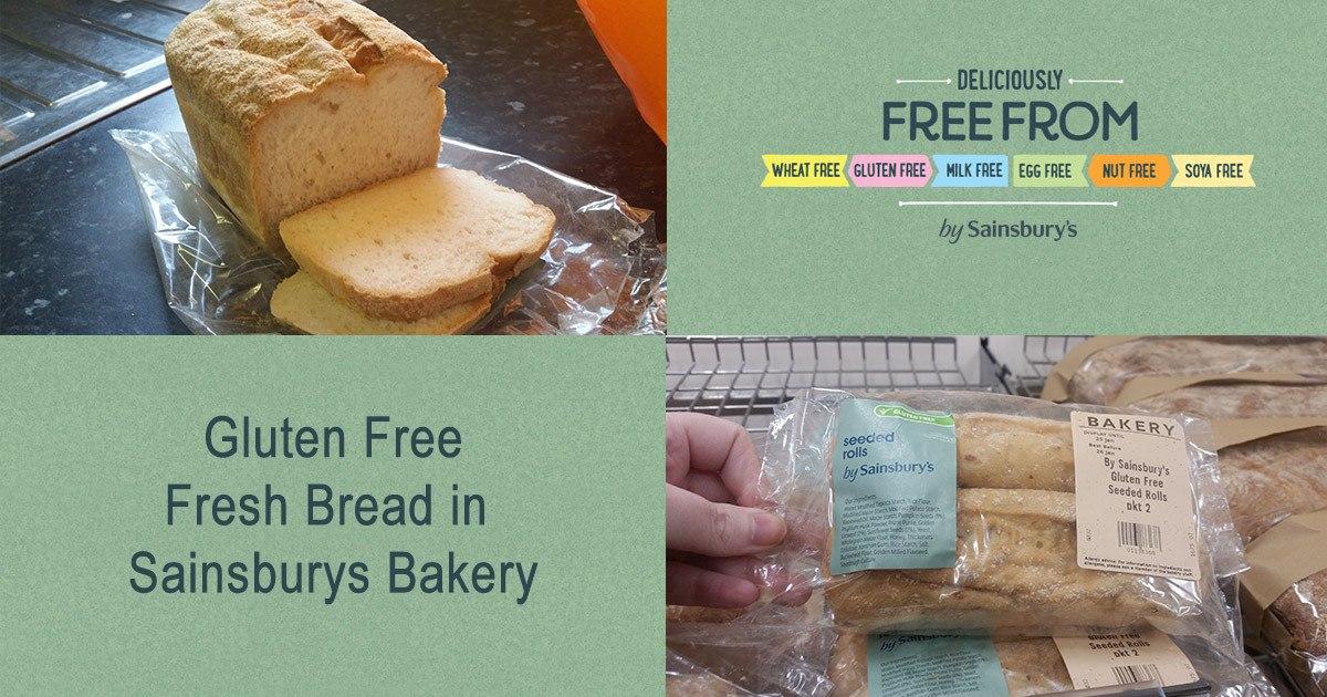 Gluten Free Fresh Bakery Bread in Sainsburys