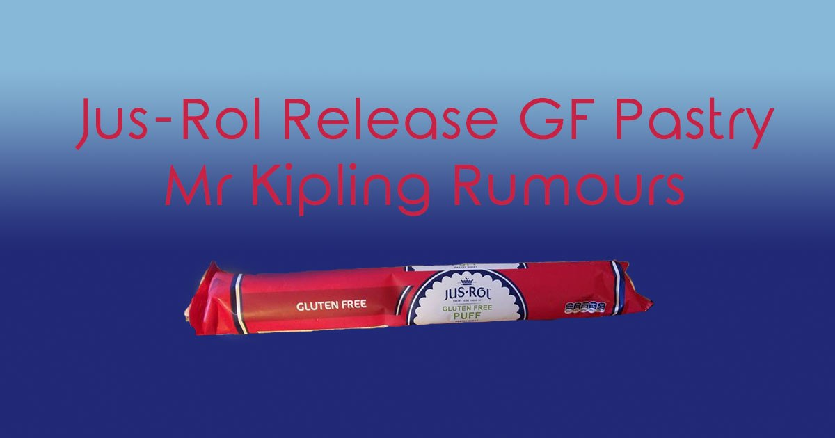 Jus-Rol Release GF Puff Pastry and Mr Kipling Rumours
