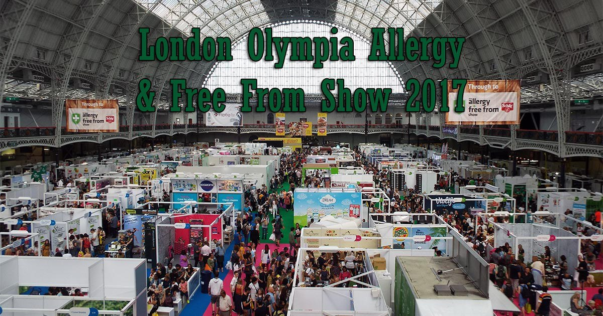 London Olympia Allergy and Free From Show 2017