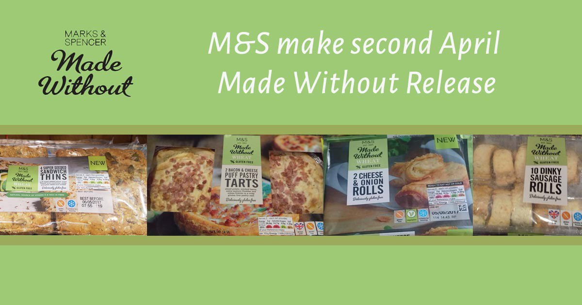 Marks and Spencer make second April Made Without Release
