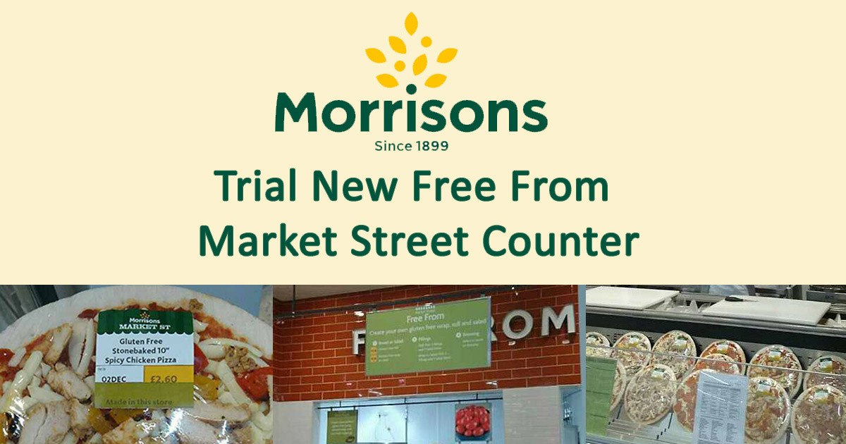 Morrisons Trial New Free From Market Street Counter