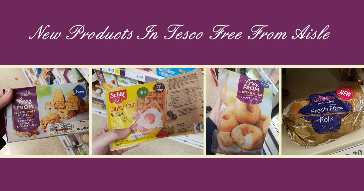 New Products In Tesco Free From Aisle