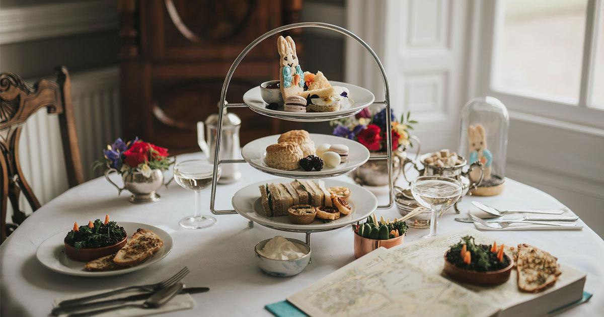 Official Beatrix Potter Afternoon Tea at Healing Manor Hotel