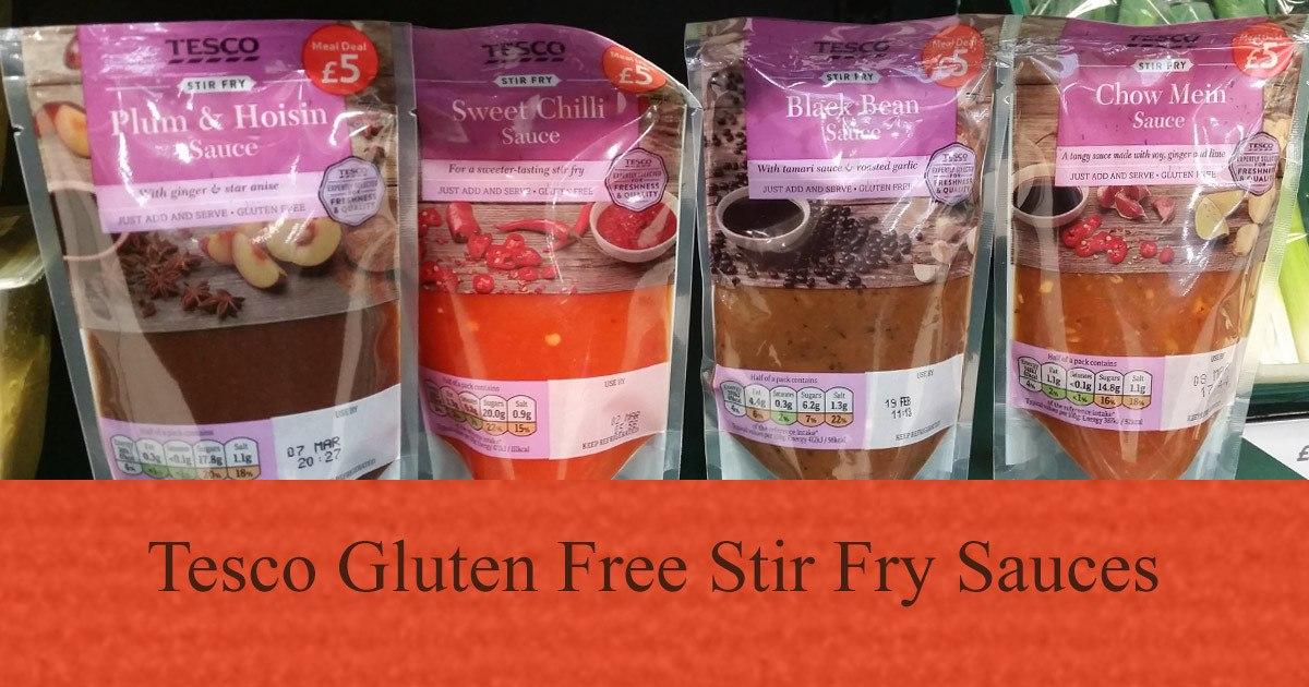 Tesco Gluten Free Stir Fry Sauces