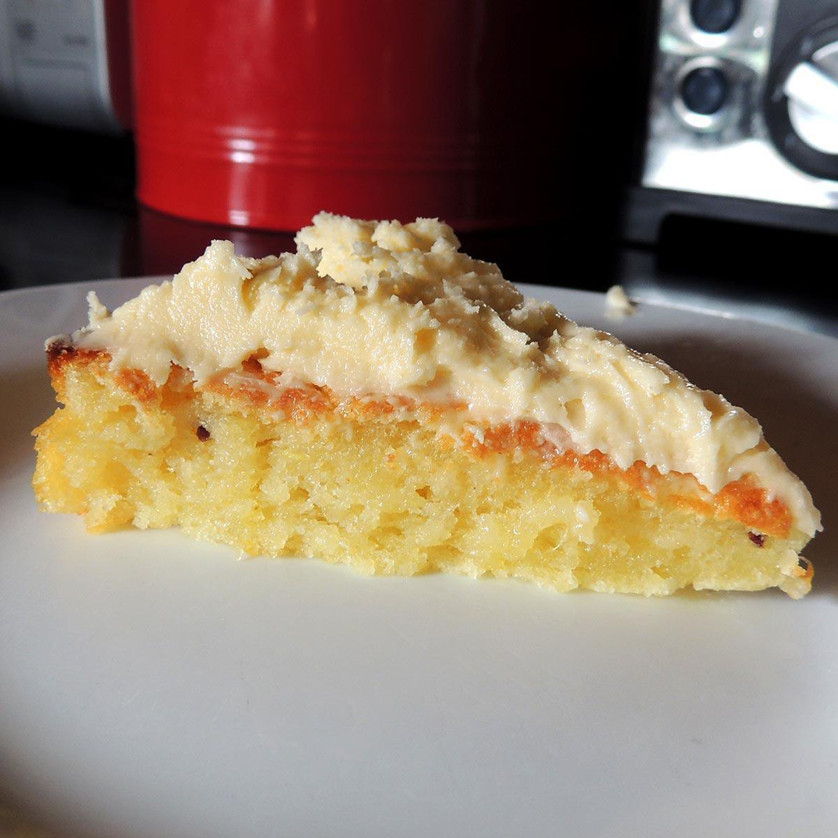 Gluten Free Pineapple and Lime Cake