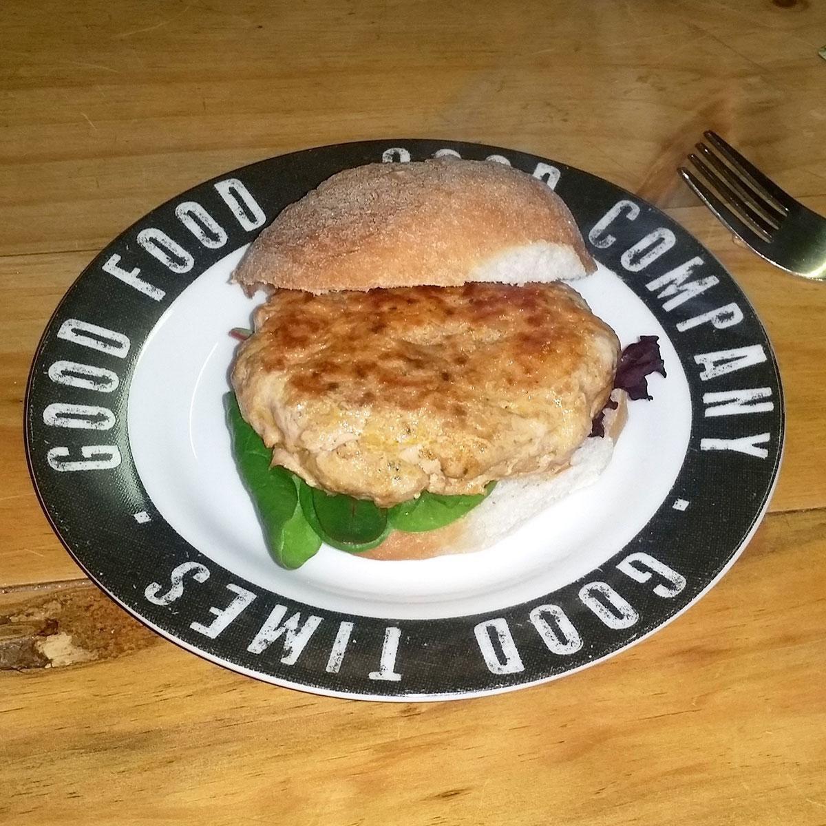 Gluten Free Tandoori Pork Burgers